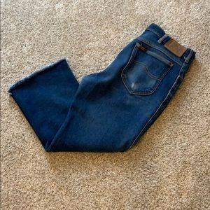 Levi's Jeans - Levi high rise crop